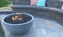 <h5>Homeowner</h5><p>Eldorado Fire Bowl Cambridge Pavers</p>
