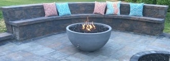 <h5>Homewner</h5><p>Eldorado Fire Bowl Cambridge Pavers</p>