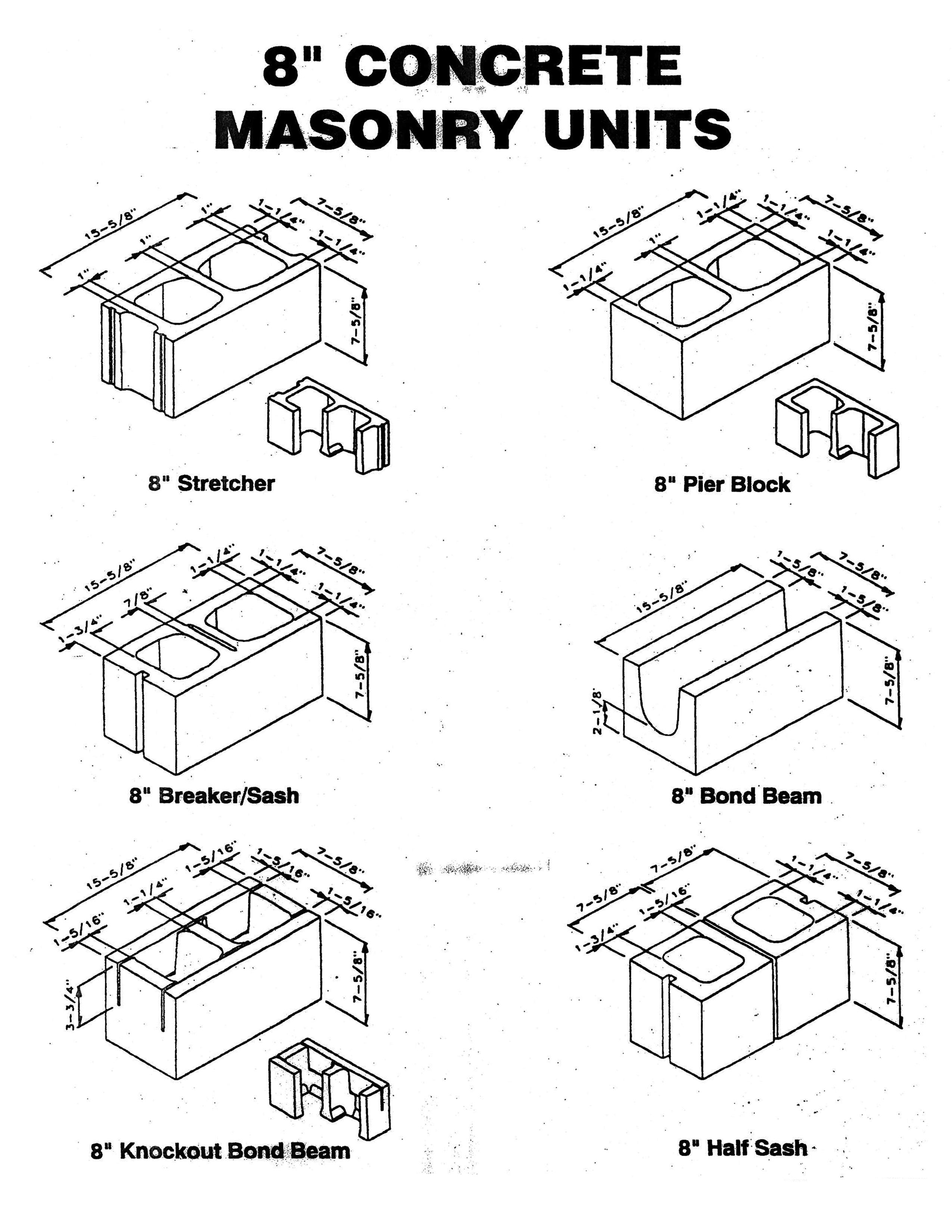 8 39 concrete masonry unit montfort group inc. Black Bedroom Furniture Sets. Home Design Ideas